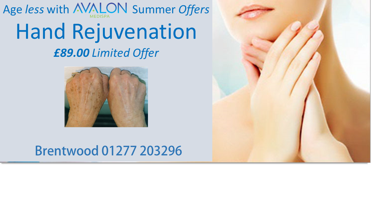 Avalon Hand rejuvination june 2016